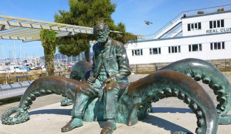 Nautilus i Kapitan Nemo w Vigo